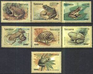 Tanzania 1996 Mi 2264-70 BL 312 ** Żaby Frösche Frogs Animals Pets Tiere - <span itemprop='availableAtOrFrom'> Dabrowa, Polska</span> - Tanzania 1996 Mi 2264-70 BL 312 ** Żaby Frösche Frogs Animals Pets Tiere -  Dabrowa, Polska