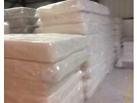 BRAND NEW LUXURY KINGSIZE DOUBLE & SINGLE MATTRESSES FREE DELIVERY FREE PILLOWS TODAY