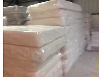 NEW LUXURY MEMORY FOAM & SPRUNG DOUBLE MATTRESSES FREE DELIVERY TODAY & FREE LUXURY PILLOWS