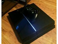 PLAYSTATION4 PS4 500GB ALMOST BRAND NEW PERFECT CONDITION