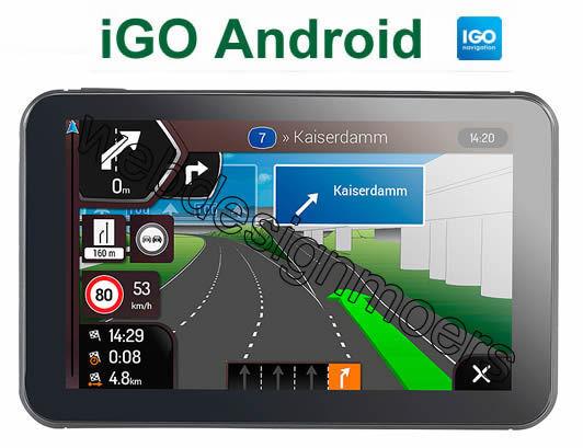 iGO Android Software-Navigations