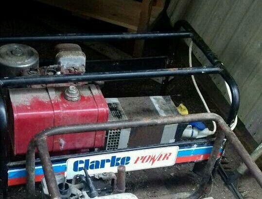 Clarke Petrol Generator 8hp Engine