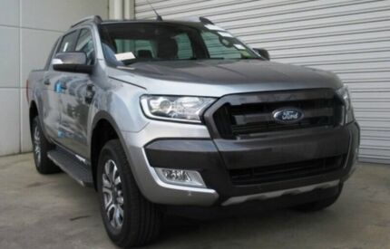 2017 Ford Ranger PX Mkii MY17 Wildtrak 32 4x4 Magnetic 6 Speed Automatic Dual Cab Pick Up