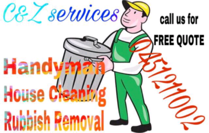 Lawn mowing    ,    rubbish removal    ,    cleaning