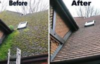 Roof maintenance and gutter cleaning