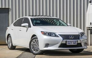 2013 Lexus ES350 GSV60R Sports Luxury White 6 Speed Sports Automatic Sedan Willetton Canning Area Preview