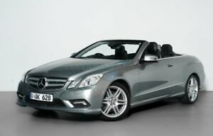 42ae7b3e939d7a 2010 Mercedes-Benz E350 A207 Avantgarde 7G-Tronic Silver 7 Speed Sports  Automatic Cabriolet
