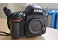 Nikon d610 dslr full frame FX. Mint condition