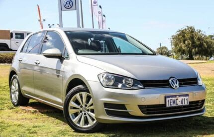 2014 Volkswagen Golf VII MY15 90TSI DSG Comfortline Silver 7 Speed Sports Automatic Dual Clutch Wangara Wanneroo Area Preview