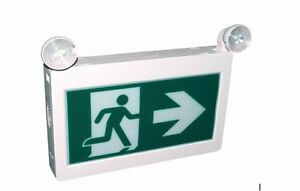 Green Running Man Emergency Exit Signs on SALE!! Oakville / Halton Region Toronto (GTA) image 1