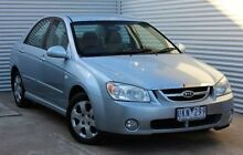 2006 Kia Cerato LD MY06 EX Blue 5 Speed Manual Sedan Thomastown Whittlesea Area Preview