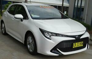 2018 Toyota Corolla Mzea12R Ascent Sport White Continuous Variable Hatchback Ulladulla Shoalhaven Area Preview
