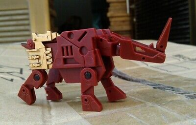KFC CST-01J - Rhinohorn of Justice Transforming Cassette 3rd Party Transformers
