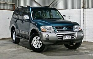 2004 Mitsubishi Pajero NP MY04 Exceed Green 5 Speed Sports Automatic Wagon Thomastown Whittlesea Area Preview
