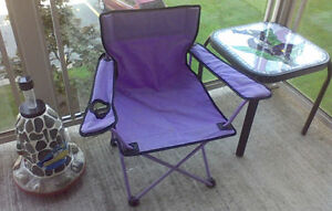 Child's Camp Chair ( purple colour )