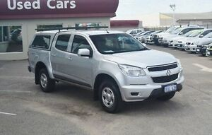 2014 Holden Colorado RG MY14 LX Crew Cab Silver 6 Speed Sports Automatic Utility Bayswater Bayswater Area Preview