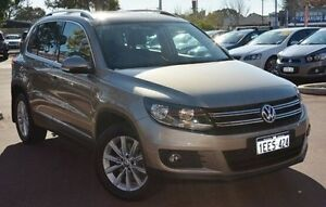 2013 Volkswagen Tiguan 5N MY14 155TSI DSG 4MOTION Beige 7 Speed Sports Automatic Dual Clutch Wagon Gosnells Gosnells Area Preview