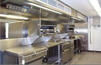 Certified kitchen exhaust hood duct fan cleaning