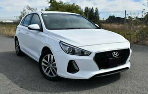 2017 Hyundai i30 PD MY18 Active White 6 Speed Sports Automatic Hatchback Ingle Farm Salisbury Area Preview