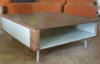 Table basse vintage fifties coffe table