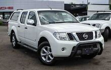 2013 Nissan Navara D40 S5 MY12 ST-X White 7 Speed Sports Automatic Utility Parramatta Parramatta Area Preview