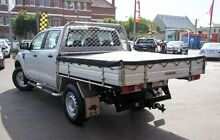 2011 Ford Ranger PX XL Super Cab 4x2 Hi-Rider Silver 6 Speed Sports Automatic Cab Chassis Northbridge Perth City Preview