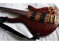 Harley Benton 4 String Active Bass