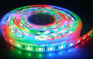 5M RGB LED Flexible Strips - Edmonton LED Pros
