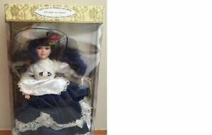 "BRAND NEW Timeless Treasures Genuine 18"" Porcelain Doll   FOR SA"