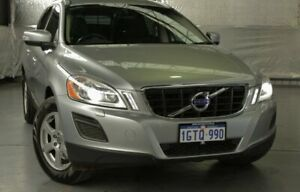 2012 Volvo XC60 DZ MY13 D5 Geartronic AWD Teknik Caspian Blue 6 Speed Sports Automatic Wagon Myaree Melville Area Preview