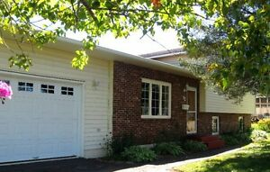Private sale. 4 bedrooms, 2 baths with attached garage.