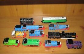 Nice Selection Of Collectors Vintage Metal Cast/Plastic ThomasThe Tank Engine Vehicles And Trackway.