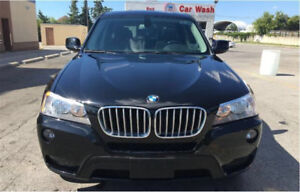 Low KM 2011 BMW X3 in absolute Mint condition