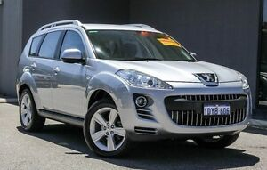 2012 Peugeot 4007 MY12 ST DCS Auto HDi Silver 6 Speed Sports Automatic Dual Clutch Wagon Osborne Park Stirling Area Preview