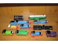 Nice Selection Of Eleven Collectors Vintage Metal Cast ThomasThe Tank Engine Vehicles. 1987 To 1993