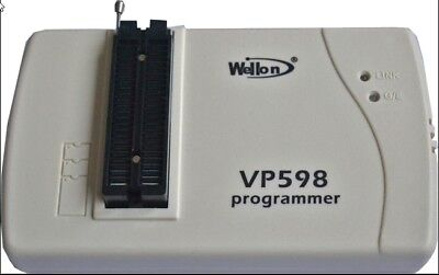 Wellon Vp598 Vp-598 Eeprom Flash Mcu Programmer Usb