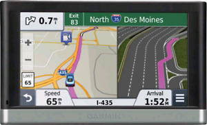 "Garmin Nuvi GPS 5"" Silver/ black TOP OF LINE"