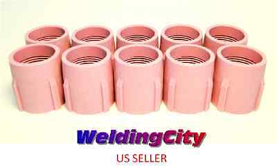 10-pk Tig Welding Large Gas Lens Ceramic Cup 53n89 15 Us Seller Fast Ship