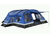 Hi Gear Frontier 8 man Tent with Trailer and Accessories