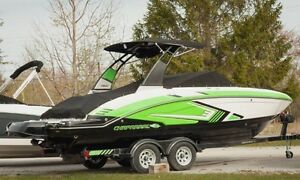 New 2016 Chaparral 223 Vortex VRX Bowrider Jet Boat