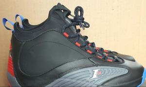online retailer d3bcf 61ea5 Allen Iverson Reebok Answer IV.V Basketball Shoes Black
