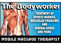 Mobile Massage Therapist Specialising in Sports, Relaxation and Deep Tissue Massage
