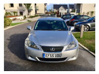 Silver Lexus IS250 - Full Options Automatic 2.5L Car for Sale
