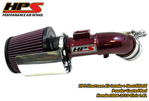 RED-HPS-Short-Ram-Air-Intake-Kit-06-11-Honda-Civic-1-8L-07-08-09-10-8thgen-Cool