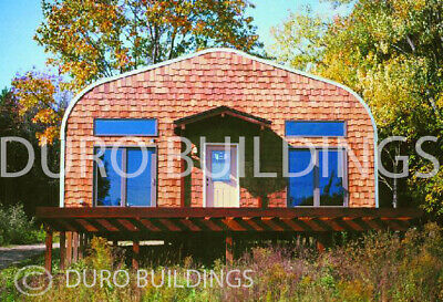 Durospan Steel 32x50x18 Metal Diy Home Building Kits Open Ends Factory Direct
