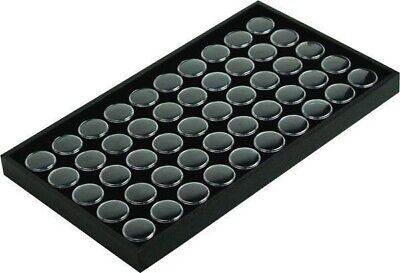 Black 50 Gem Wooden Tray Jewelry Display 14 34in X 8 14in X 1in