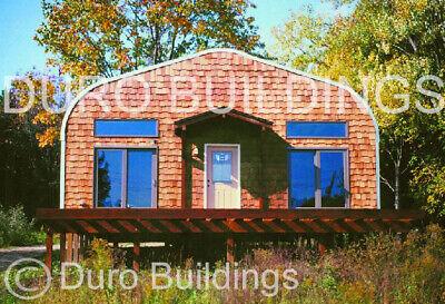 Durospan Steel 30x44x14 Metal Garage Shop Diy Home Building Kit Open Ends Direct