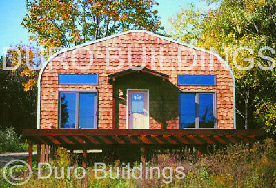 Durospan Steel 32x36x18 Metal Building Diy Home Kit Workshop Open Ends Direct