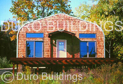 Durospan Steel 20x68x16 Metal Building Diy Home Kits Open Ends Factory Direct
