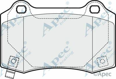 Brake Pads Rear FOR TESLA MODEL X Electric 16->ON 5YJX Apec